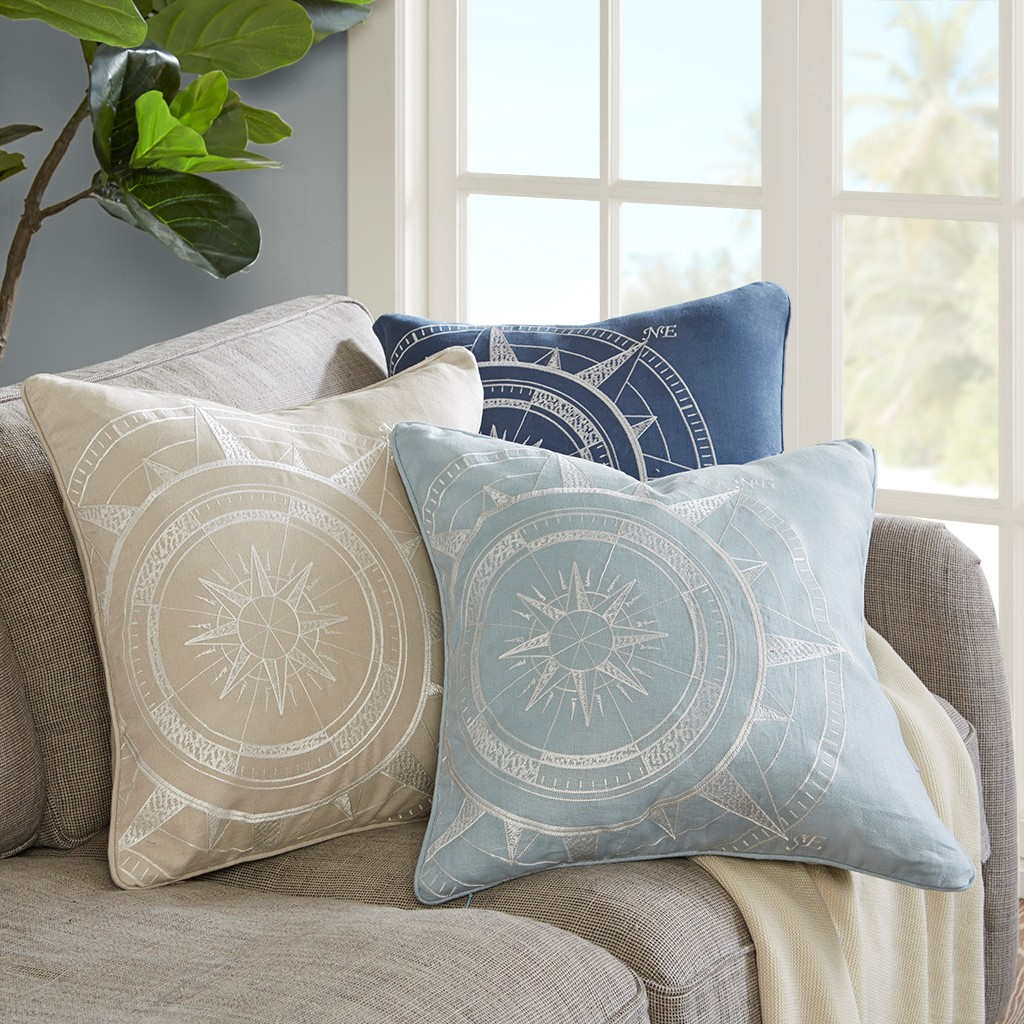 Compass Rose Pillows
