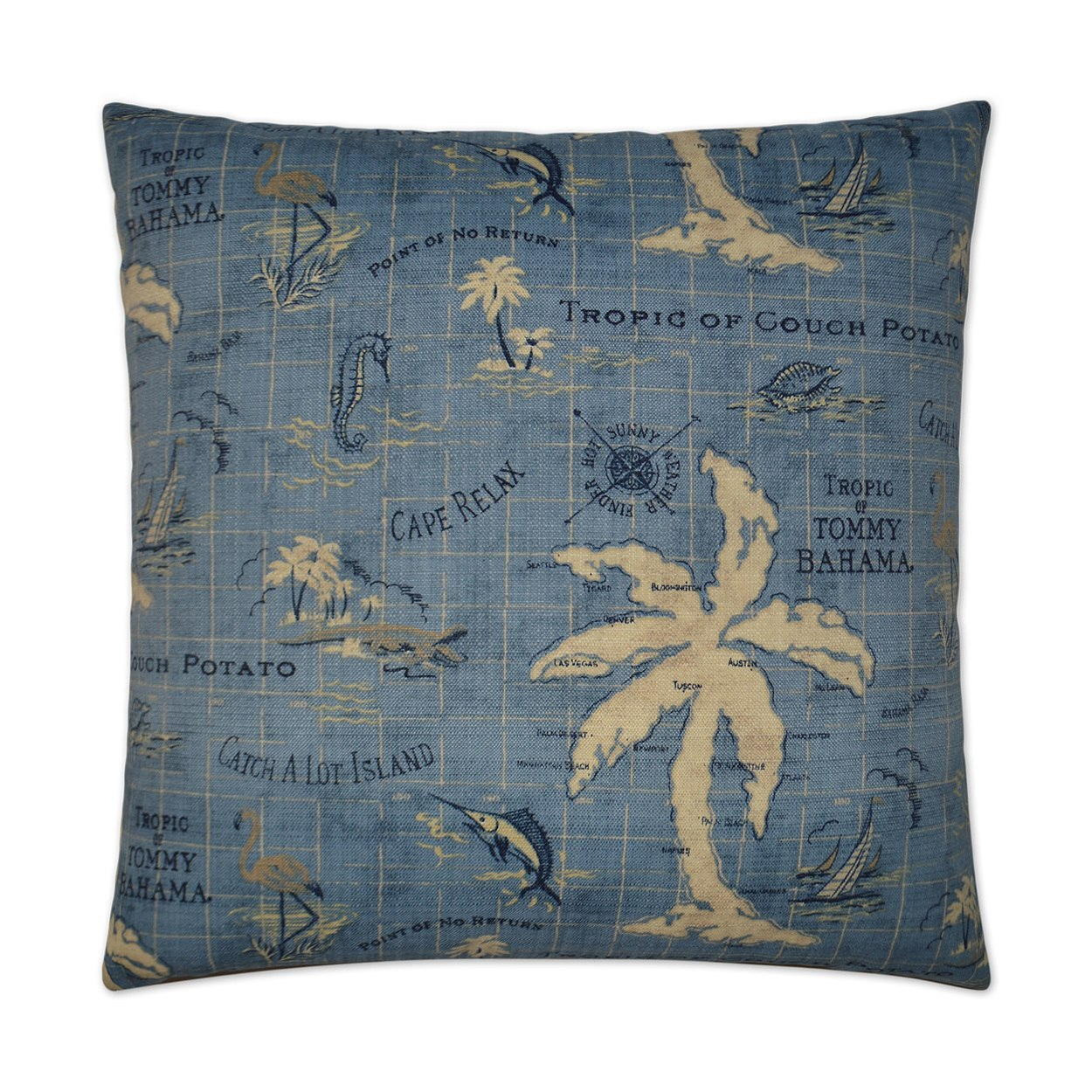 Island Song Pillow