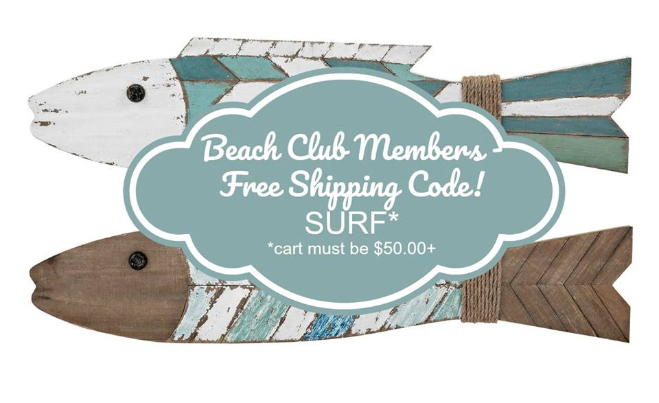 Free Shipping for Beach Club Members - Shop Now!