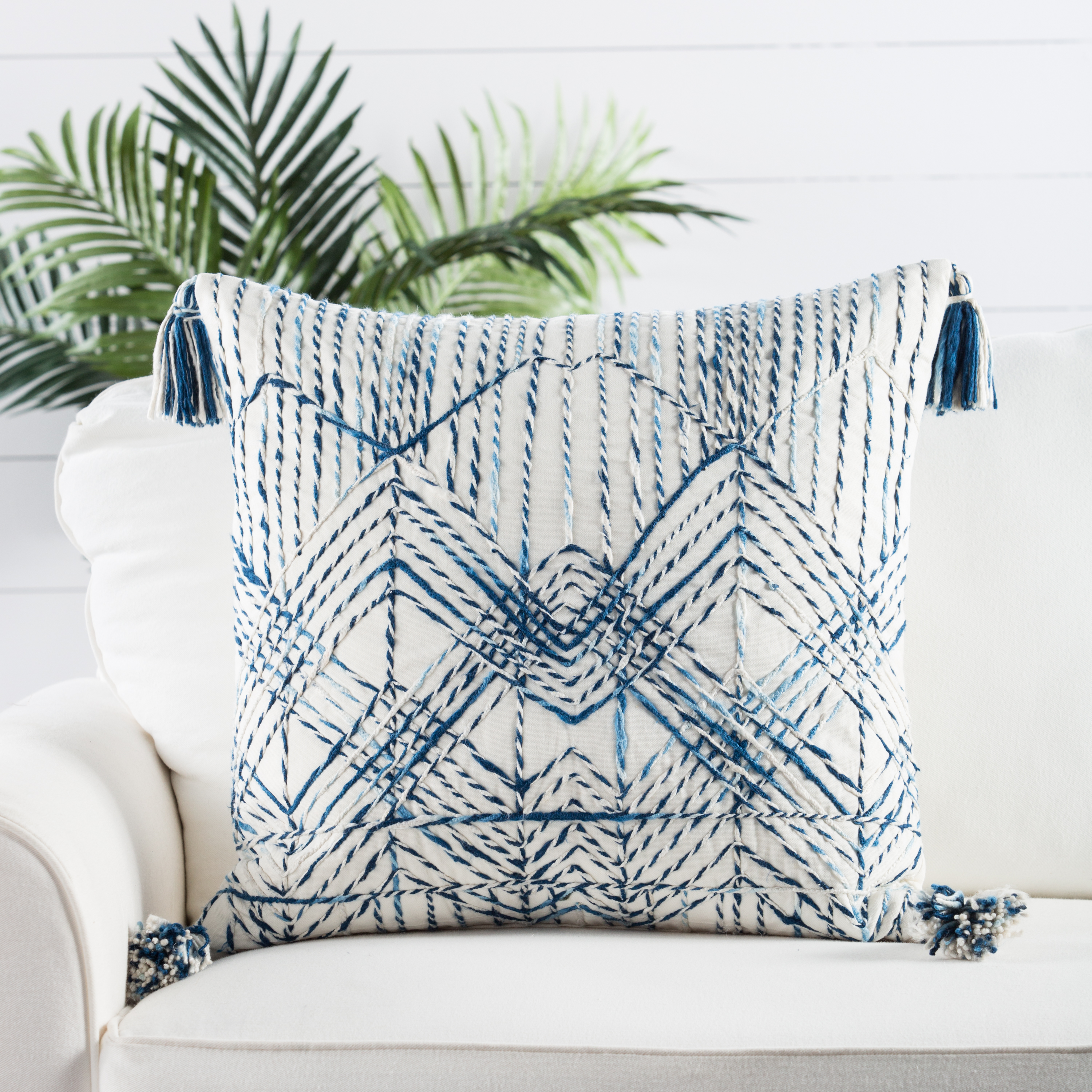 Breakwater Embroidered Pillow