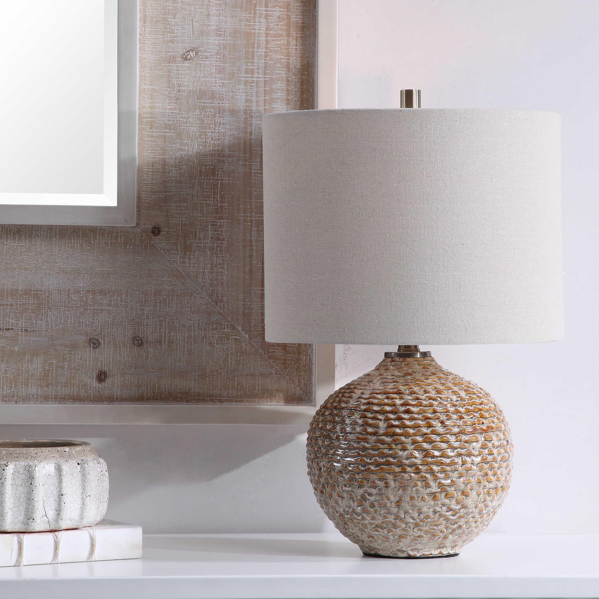 Lagos Accent Lamp + Morro Mirror