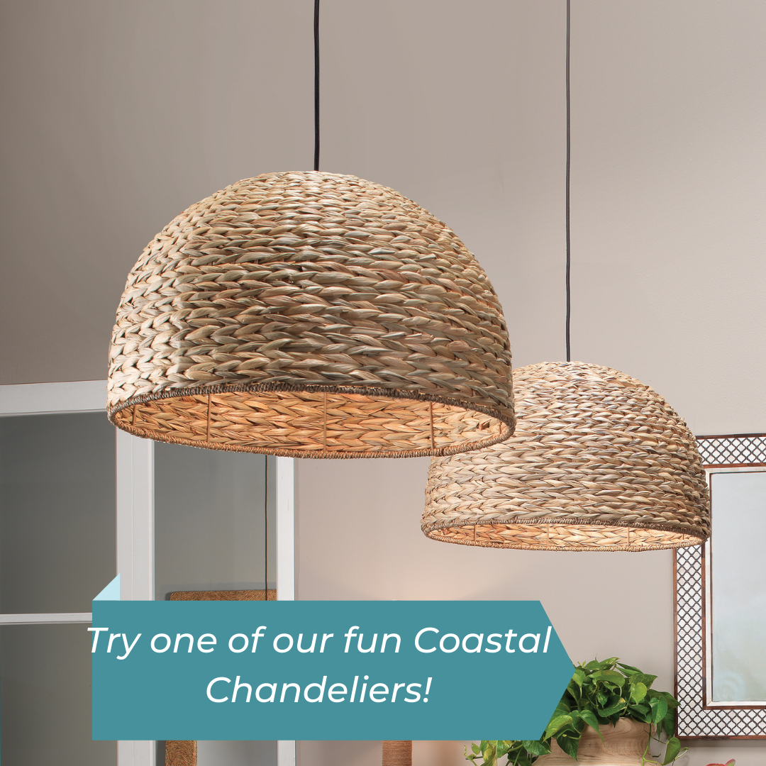 Chandeliers and Pendants for Coastal Homes - Great Ideas