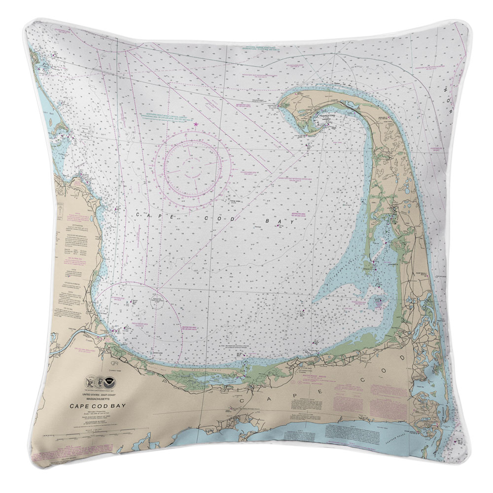 Nautical Chart Pillows