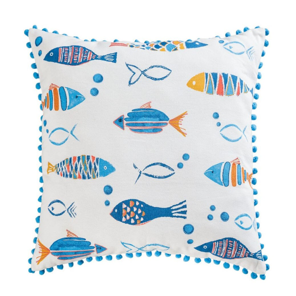 School of Fish Pillow - Too Fun!