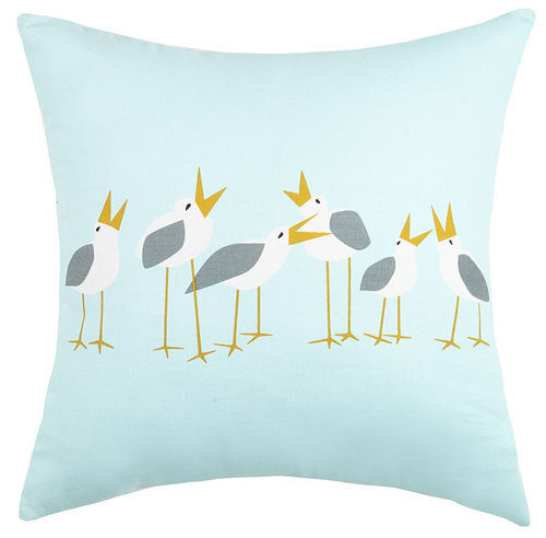 Singing Seagull Pillow
