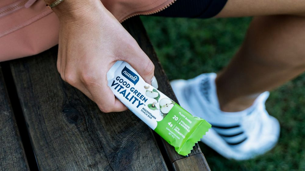 Good green vitality multivitamin bars