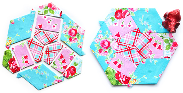 English Paper Piecing Samples