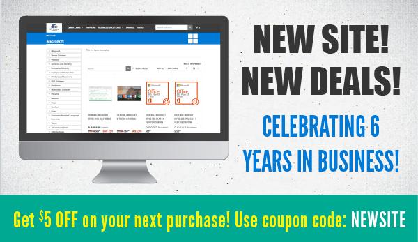 New Site New Deals!